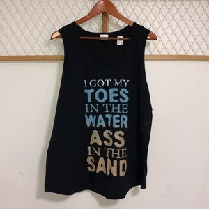 Toes in the Sand Tank Top